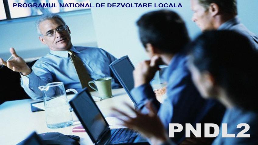 pndl2 - programul national de dezvoltare locala