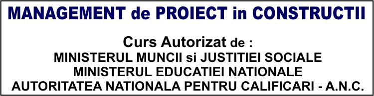 curs management de proiect autorizat